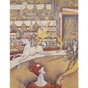 Puzzle en bois - Art maxi 24 pièces - Seurat : Le cirque PUZZLE MICHELE WILSON