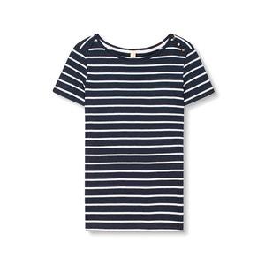 T-shirt à marinheiro, com mangas curtas ESPRIT