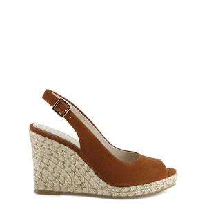 Sandales cuir compensées Lany COSMOPARIS