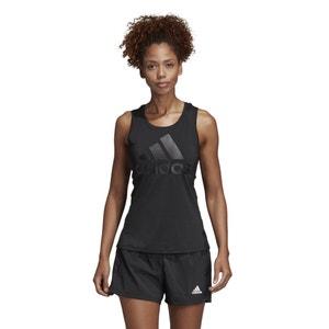 Training hemdje met sportuitsnijding achteraan