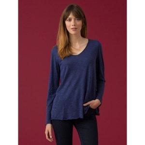 T-shirt loose femme coton/modal uni, IONO SOMEWHERE