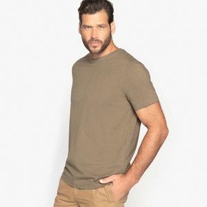 T-shirt con scollo rotondo e maniche corte, puro cotone CASTALUNA FOR MEN
