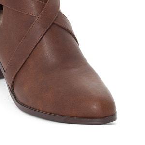 Wide-Fit Buckled Shoe-Boots, 38-45 CASTALUNA
