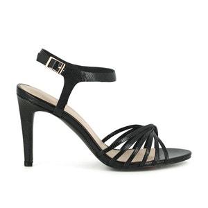 Solange Leather Sandals JONAK