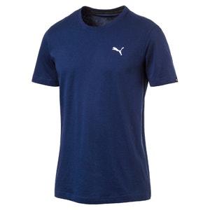 T-shirt scollo rotondo tinta unita, maniche corte PUMA