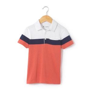Polo tricolore 3-12 ans R essentiel