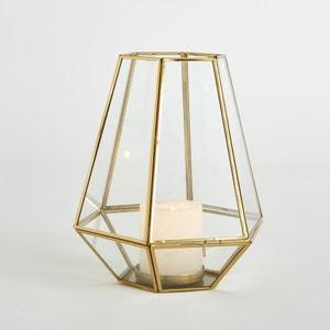 Windlicht, Glas/Metall