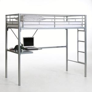 Hoogslaper met bureau in metaal, Janik La Redoute Interieurs