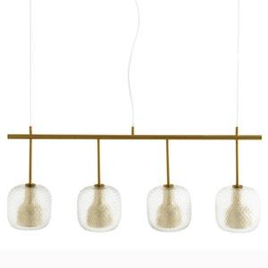 Lijn hanglamp met 4 bollen Mistinguett AM.PM.