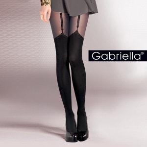 Collant fantaisie glamour effet jarretelles Valery GABRIELLA