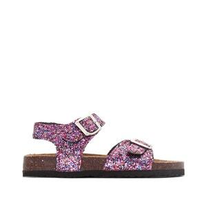 Sandaletten mit Pailletten abcd'R