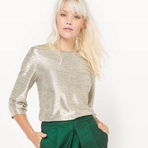 Gold Lamé Sweatshirt MADEMOISELLE R