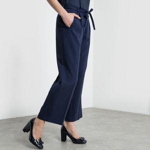 Skrócone proste spodnie atelier R