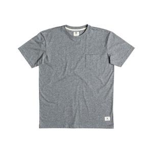 T-shirt tinta unita con tasca DC SHOES