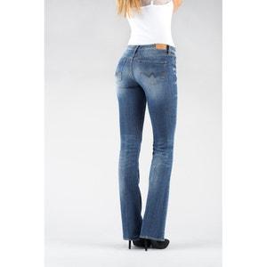 Cotton Mix Bootcut Jeans LE TEMPS DES CERISES
