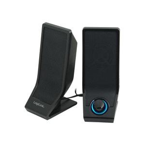 Haut-parleur actif LogiLink USB 2.0 noir (SP0027) LOGILINK
