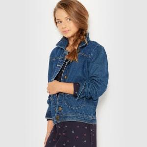 Blouson jean col polo,  chemise La Redoute Collections