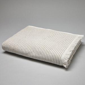 Striped Printed Cotton Towel, 500 g/m² La Redoute Interieurs