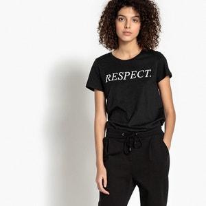 T-shirt met ronde hals en korte mouwen VERO MODA