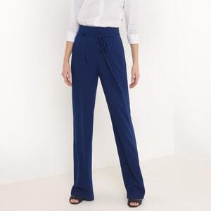 Pantalon droit, uni atelier R