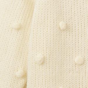 Gilet maglia popcorn 1 mese - 3 anni La Redoute Collections