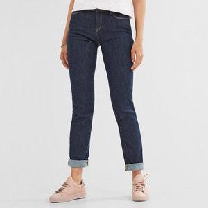 Straight Mid-Rise Jeans ESPRIT
