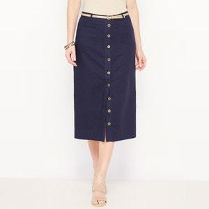 Falda larga, 55% lino ANNE WEYBURN
