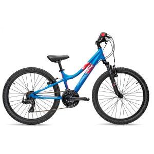 troX comp 24 21-S - Vélo enfant - bleu S'COOL