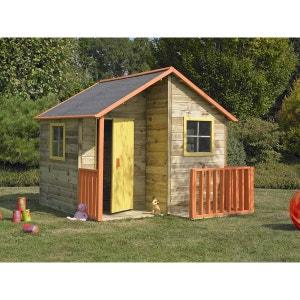 Maison maisonnette enfant la redoute for Cabane de jardin belgique