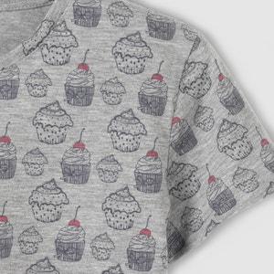 Cupcakes Printed T-Shirt, 10-16 Years R pop