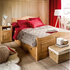 EDELWEISS Cotton Flat Sheet La Redoute Interieurs