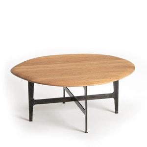 Mesa baja de roble Addisson, modelo pequeño