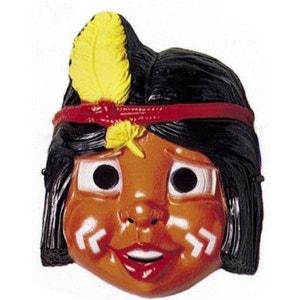 Masque Petit indien : Indien plume jaune CESAR