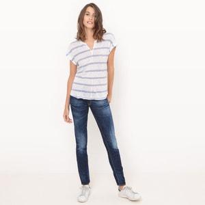 Slim-Fit-Jeans, normale Bundhöhe, Länge 32 LE TEMPS DES CERISES