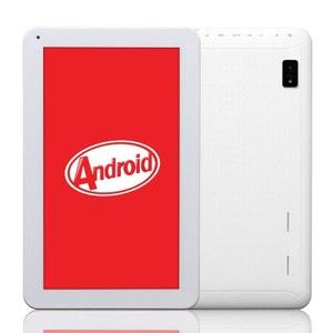 Tablette 10 pouces Android KitKat Bluetooth Quad Core 8Go Blanc Yonis