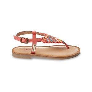 Nuage Beaded Leather Sandals LES TROPEZIENNES PAR M.BELARBI