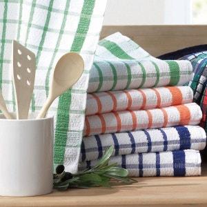 Handdoek in badstof geweven-geverfd (set van 6 of 12) La Redoute Interieurs
