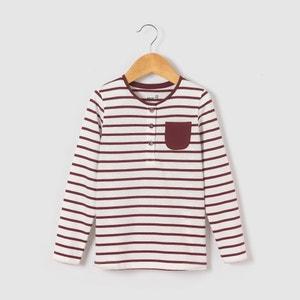 T-shirt manches longues rayé 3-12 ans abcd'R