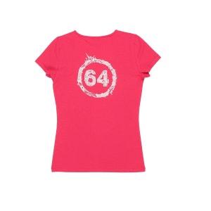 Tee-Shirt Femme Logo Dentelle 64