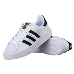 Basket Adidas Superstar Bold W Ba7666 Blanc / Noir adidas