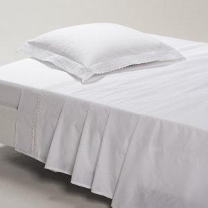 DENTELLE Cotton Flat Sheet La Redoute Interieurs