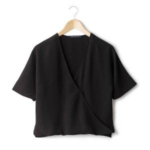 Blusa de manga corta con efecto cruzado FRENCH CONNECTION