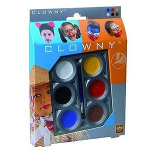 Palette de maquillage Aqua 6 couleurs Clowny SES CREATIVE
