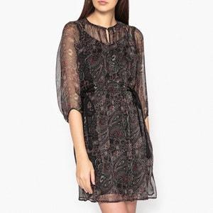 Printed Voile Dress IKKS