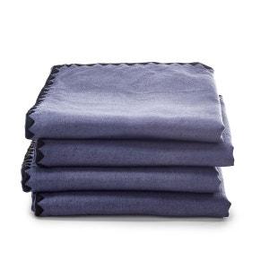 Serviettes métis coton lin, Adrio (lot de 4) La Redoute Interieurs image