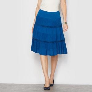 3-Tiered Midi Skirt ANNE WEYBURN