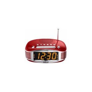 Radio-réveil AKAI AR400 rouge AKAI