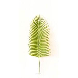 Feuille palmier Phoenix artificielle H 43 cm D 15 cm plastique ARTIFICIELLES
