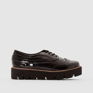 Sapatos derbies envernizados, rasto grosso CAPRICE COOLWAY
