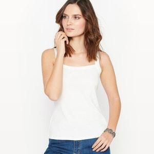 Camiseta sin mangas 100% algodón peinado ANNE WEYBURN